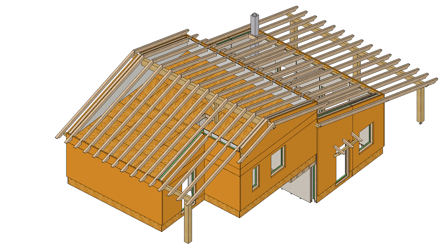 Electrical installation in a wooden house: design rules for step-by-step installation 7